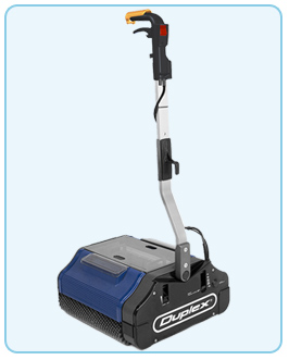 Duplex 420 large carpet and floor cleaner