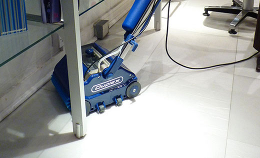 efficiently clean tight spots and difficult access areas with the agile, compact floor scrubbing machine