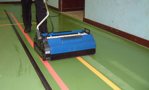industrial floor scrubbing machine for heavy duty use