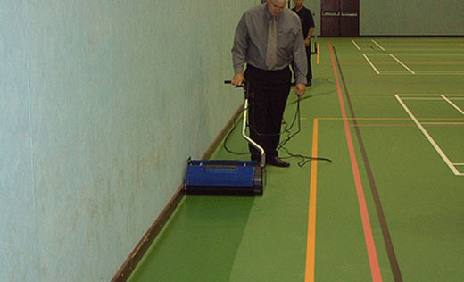 industrial grade professional floor cleaning machine, for workshops, factories and large sheds with concrete floors
