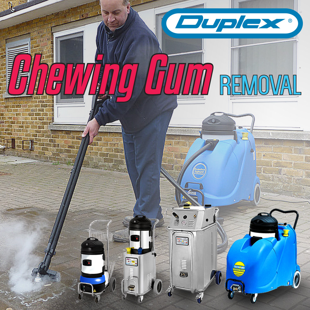 Chewing gum removal system