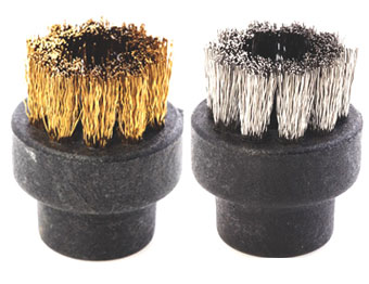 Brass brush and stainless Steel brush