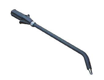 this curved bayonette lance accessory is designed to be used with steam cleaning equipment