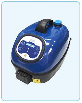 Latest compact, modern steamer with digital control panel