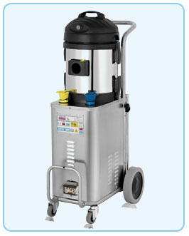 Latest compact, stainless steel steam vacuum generator