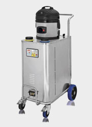 industrial steam vac cleaning machine for commercial contract cleaners