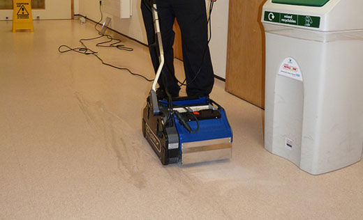 multi-purpose commercial floor scrubber