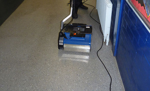 wash, scrub and agitate deep dirt- clean floors in a single pass, ideal for service facility cleaning and maintenance