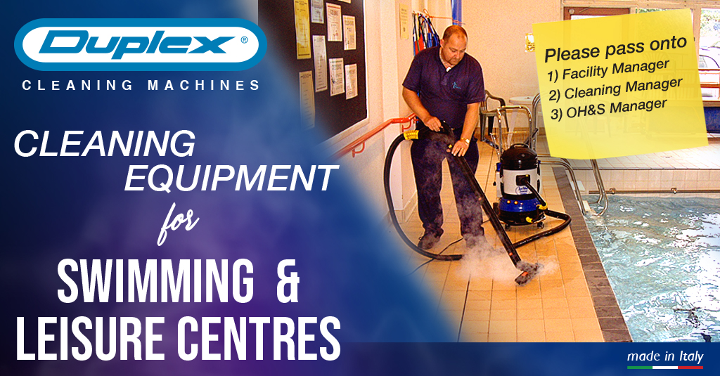 swim centres leisure cleaning equipment banner