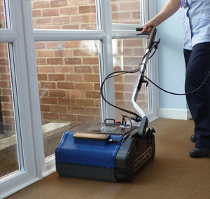 three steps to efficient carpet cleaning