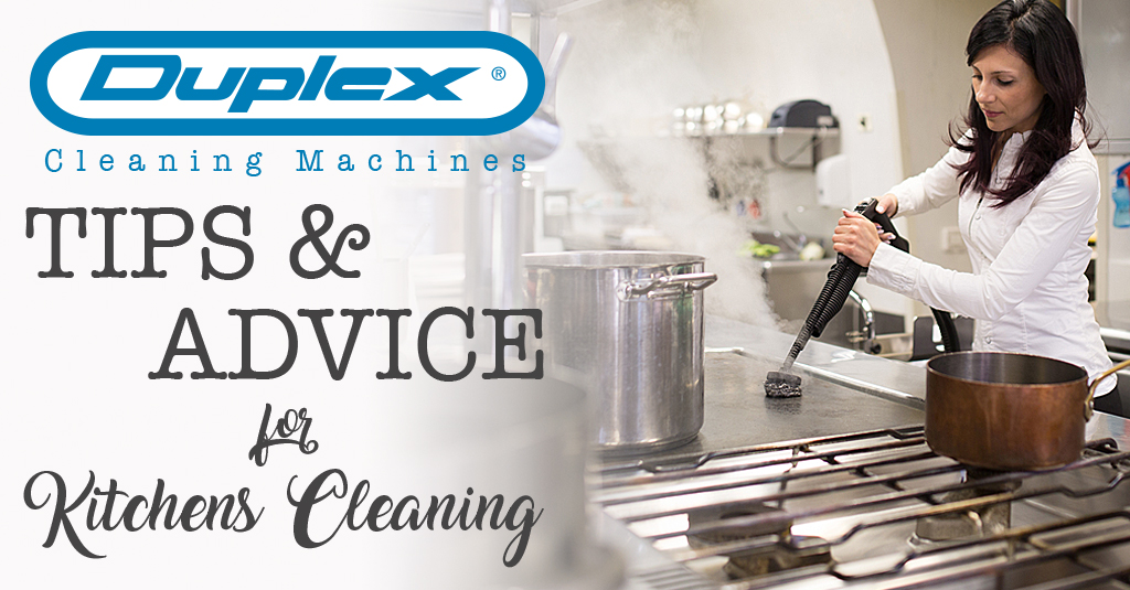 Tips and advice in kitchen cleaning