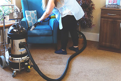 Jetvac Junior machine for upholstery detail cleaning