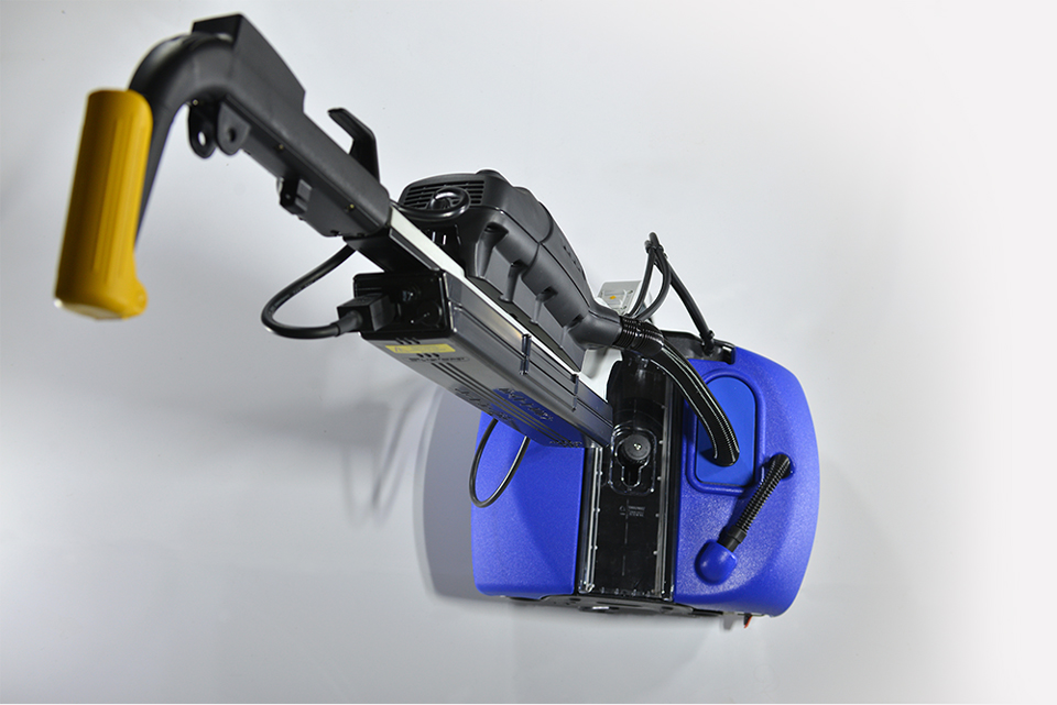 Dual Floor Cleaner and Scrubber